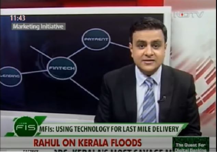 Manoj Nambiar, MD, Arohan Financial Services Limited on NDTV 24X7 AM