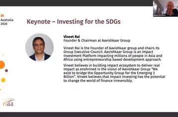 Keynote Address | Responsible Investing Association Australasia